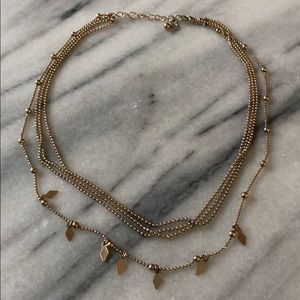 Layered delicate necklace